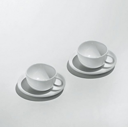 """FRUIT BASKET"" SET OF TWO CUPS"