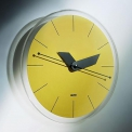 """SOLE"" WALL CLOCK YELLOW"